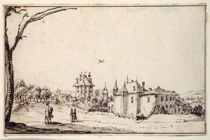 La Vieille Et La Neuve Malgrange by Jacques Callot