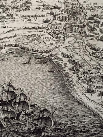 Le Siège de La Rochelle : planche FG