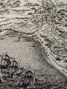 Le Siège de La Rochelle : planche FG by Jacques Callot