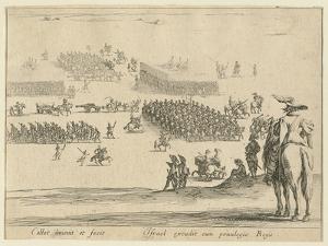 Revue, C.1630 by Jacques Callot