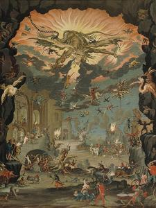 Temptation of St Anthony by Jacques Callot