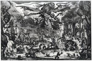 Tentation De St Antoine, C1615-1635 by Jacques Callot