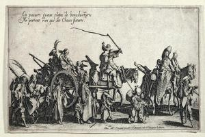 The Rear Guard by Jacques Callot