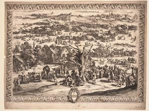 The Siege of Breda, 1628 by Jacques Callot