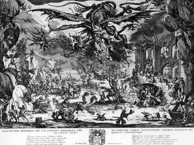 The Temptation of Saint Anthony, 1635