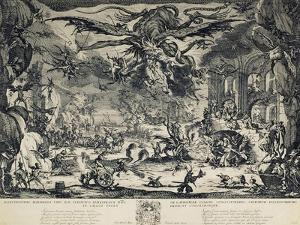 The Temptation of Saint Anthony, 1635 by Jacques Callot