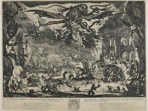 The Temptation of Saint Antony, 1635 by Jacques Callot