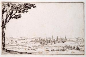 View of Nancy by Jacques Callot