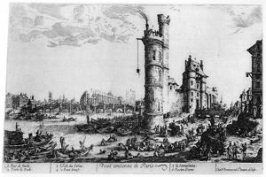 Vue Ancienne De Paris, C1615-1635 by Jacques Callot