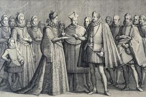 Wedding of Ferdinando De' Medici and Christine of Lorraine, 1589 by Jacques Callot