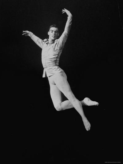 Jacques D'Amboise of the New York City Ballet-John Dominis-Premium Photographic Print