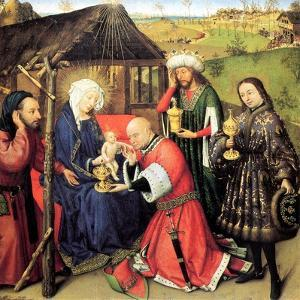 The Adoration of the Magi, C. 1440 by Jacques Daret