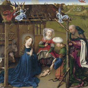 The Nativity, Ca 1435 by Jacques Daret