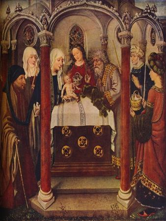 'The Presentation of Christ in the Temple: An altar-piece,' c1434