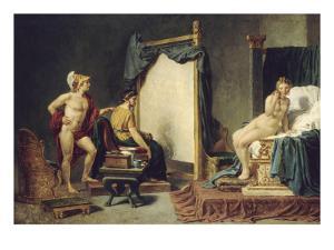 Apelle et Campaspe by Jacques David