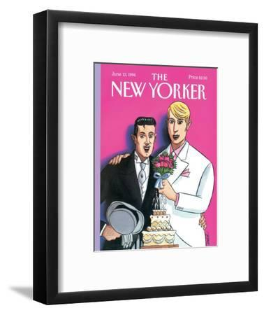 The New Yorker Cover - June 13, 1994