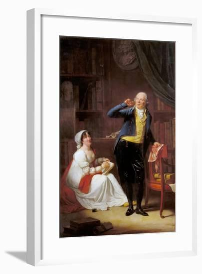 Jacques Delille and His Wife-Henri-Pierre Danloux-Framed Giclee Print