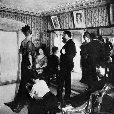 Jacques Doucet in His Atelier, 1910--Photographic Print