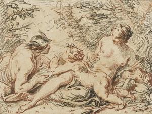 Vénus, Mercure et l'Amour by Jacques Dumont