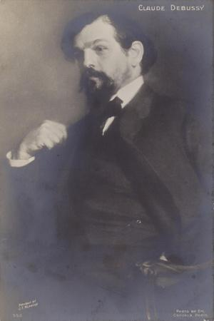 Claude Debussy, French Composer (1862-1918)