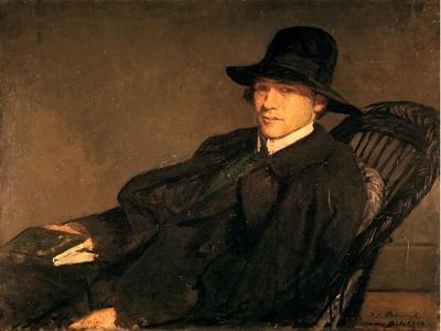 Portrait of Andre Gide (1869-1951), 1912