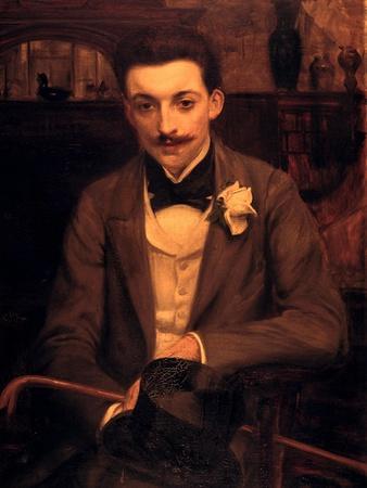 Portrait of P.Louys, C1861-1942