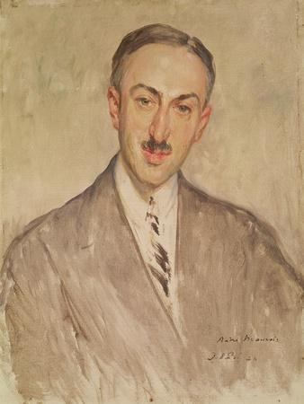 Study for the Portrait of Andre Maurois