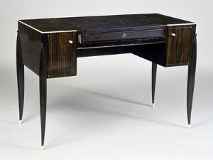 Art Deco Style Ladies Writing Desk, Stamped by Jacques-emile Ruhlmann