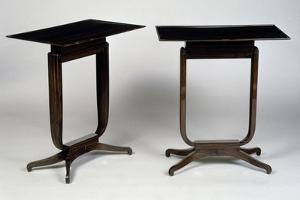 Art Deco-Style Tables, Bloch Model, 1920-1940 by Jacques-emile Ruhlmann