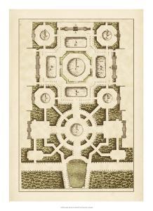 Garden Maze III by Jacques-francois Blondel