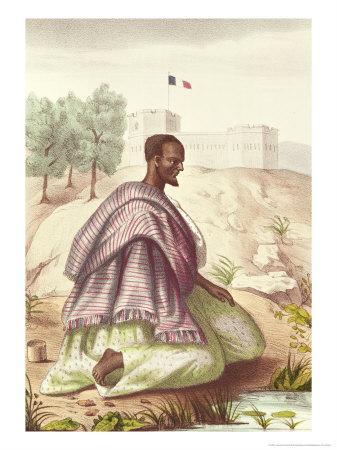 "A Senegalese Marabout, from ""Les Esquisses Senegalaises"" by Abbe Boilat, 1853"
