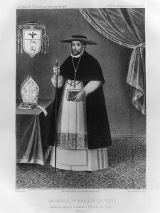 Vincente De Valverde, First Bishop of Cuzco by Jacques Francois Gauderique Llanta