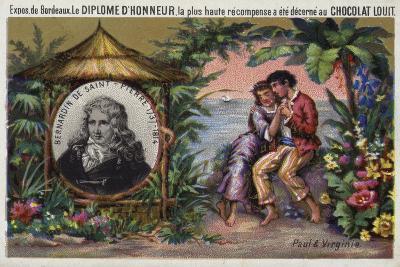 Jacques Henri Bernardin De Saint Pierre, French Writer and Botanist--Giclee Print
