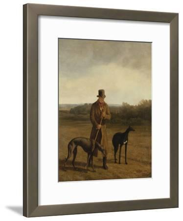 Portrait of Lord Rivers with Two Greyhounds, C.1825