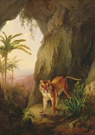Tiger in a Cave, C.1814