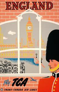England - Queen's Guard, Big Ben, Parliament Building and the Thames River - Fly TCA by Jacques Le Flaguais