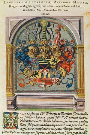 Coat of Arms, from 'Brevis Narratio..'