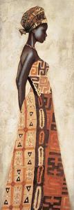 Femme Africaine I by Jacques Leconte