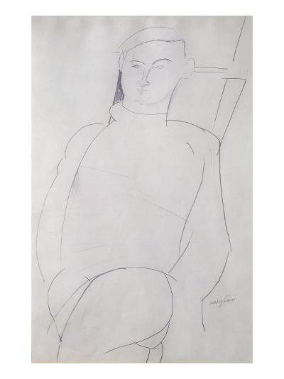 Jacques Lipchitz-Amedeo Modigliani-Giclee Print