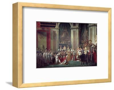 Consecration of the Emperor Napoleon and Coronation of Empress Josephine, 2nd December 1804, 1806-7