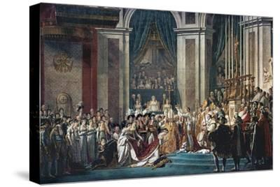 Consecration of the Emperor Napoleon and the Coronation of the Empress Josephine by Pope Pius VII