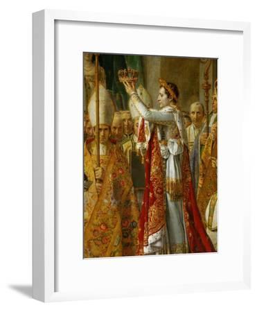 Coronation of Napoleon in Notre-Dame De Paris by Pope Pius VII, December 2, 1804