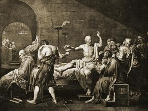 Death of Socrates by Jacques-Louis David