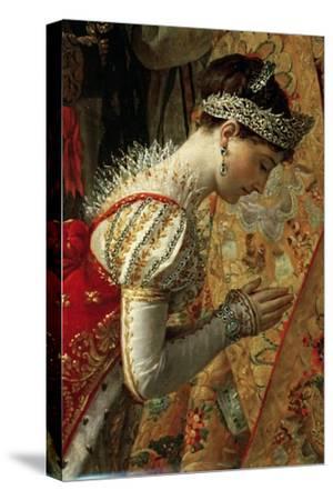 Empress Joséphine (The Coronation of Napoleon, Detai)