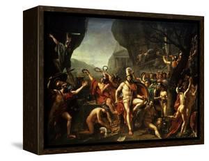 Léonidas Aux Thermopyles (Leonidas, King of Sparta, at Thermopylae) by Jacques-Louis David