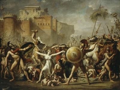 Les Sabines, 1799 (Sabine Women)