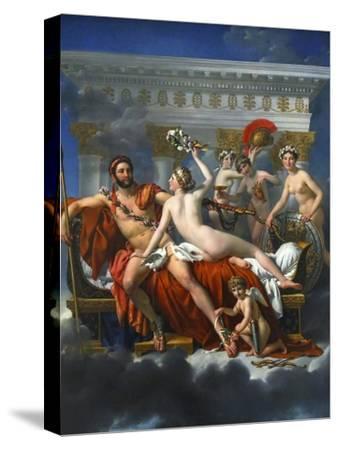 Mars Being Disarmed by Venus, 1824