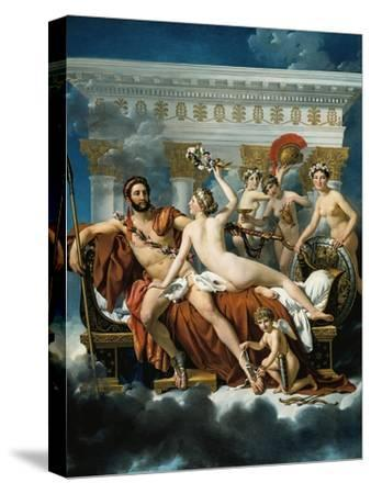 Mars Disarmed by Venus and the Three Graces