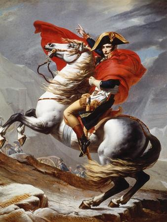 Napoleon Bonaparte, 1769-1821, Emperor of the French, Crossing the Alps
