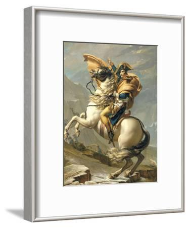 Napoleon Crossing the Alps at the St. Bernard Pass, 20th May 1800, circa 1800-01
